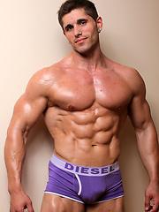 Powermen Exclusive muscle model Dylan Hunter