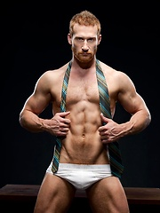 Danny Harper's bonus photo set is a treat for all you guys with a suit and tie fetish.