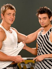 Hot studs Marcus Mojo and Johnny Torque