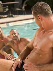 Adriano Marquez, Marco Paris and Vinnie D'Angelo goes threesome