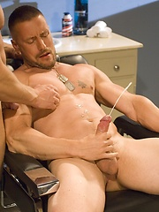 Soldiers Alex Collack and Kirk Ziegler fucking