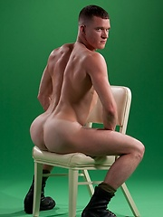 Muscled soldier Jackson Lawless