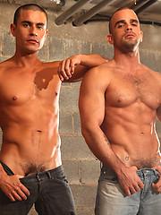 Rafael Carreras and Damien Crosse Drain Their Uncut Cuban Cocks