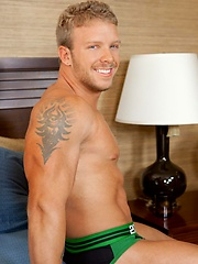 Toby is one hot muscle stud.
