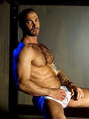 Junior Stellano - muscled hairy dude