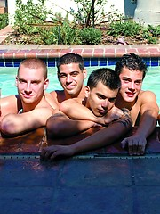 Hot jocks and studs gay orgy. Sebastian Keys, Jeremy Fox, Stefano Ricci, Ricky Larkin, Jake Lyons and Dex Carter
