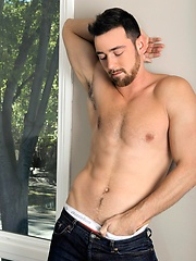 Patrick O'Brien is a super sexy Brit with a seductive accent, and a chiseled body and big thick cock to back it up.