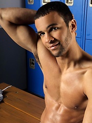 Carlos Ventura is a beautiful mix of Black and Hispanic hotness with a delicious cock and hot hairy hole.