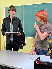 An 18 years old cutie twink gives up his tight asshole to his teacher