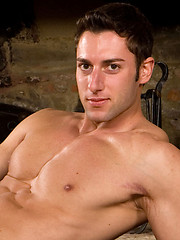 Daniele shows his perfect muscled body