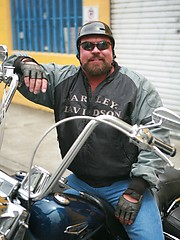 Dwaine Anthony - Biker Bear