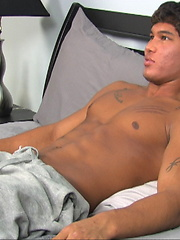 Muscle stud latino sucked