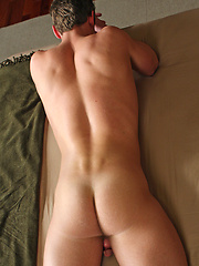 Andrew posing naked and jacking off