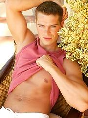 Nice looking stud Jason Paradis show hard dick