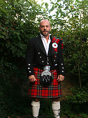 Hairy Man in a Kilt - Carlo Cox