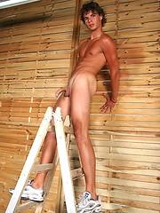 Hot twink Armando posing naked