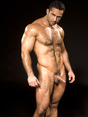 Adam Champ hairy bodybuilder