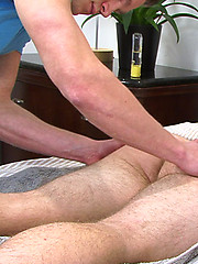 Straight PT Dan - His First Man Handling - Doesn\\\'t Touch His Own Cock Once!