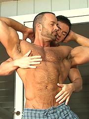 Mitch Branson and Nate Karlton - muscle men fuck