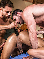 Dine Ass-ty. Drae Axtell, James Castle, Billy Santoro