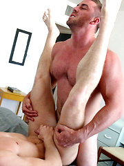 Jimmy Coble's First-Time Gay Sex: Bottoming for Derek Jones