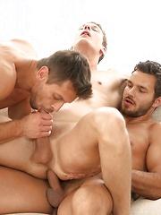 Rhys Jagger, Marcel Gassion and Marc Rufallo