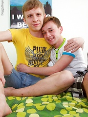 A teen twink cum tasting to finish