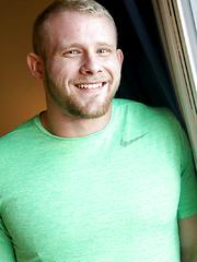 Hairy Bodybuilder Ryan Judd Jerks His COCK