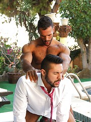 AL FRESCO. Starring SETH SANTORO & DENIS VEGA