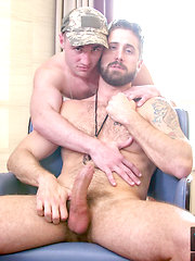 Horny Step Father runs sex drills to prepare step son for bootcamp.