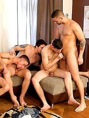 Wank Party #95, Part 1 - Raw