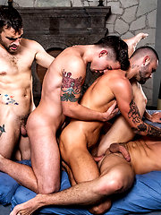 Join The Sweaty All-star Orgy (Part 01)