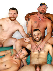 Real Men Hot Beard Orgy