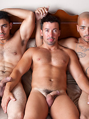 Leo, Miguel and Dominik fucking