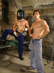 Tomas and Milos in gay abuse scene