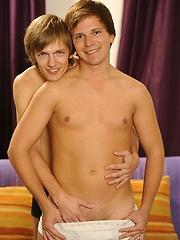 Hot euro boys Rado and Jakub have sex
