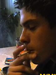 Lost Archi Vid! Smoking And Stroking