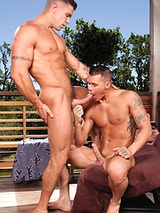 Muscles studs Trenton Ducati and Tate Ryder fucking