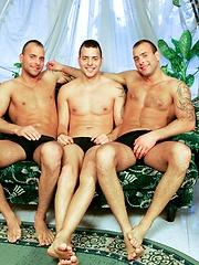 Jason Visconti, Jimmy Visconti and Joey Visconti