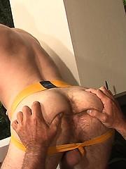 Trent Locke and Tim Kelly oral sex scene