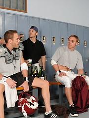 Ari Sylvio, Drew Cutler and Tristan Jaxx
