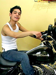 Brody Frost Rides a Hog