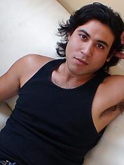 Uncut Hairy Latino Skater