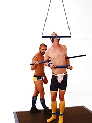 Blake Daniels and Dominic Pacifico oral sex and bondage