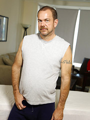 Chubby dude Stephen Edwards