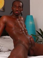 Raw black cock