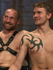 Perverted Leather Daddy and His Helpless Captive