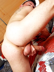 Dick-Craving Twink Gets Manhandled, Fucked & Swallows Every Drop Of Alpha-Male's Spunk!