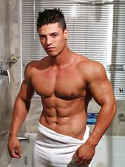 Handsome blue boy musclepuppy Jean Paul