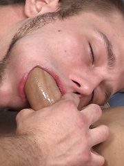 Smooth horny boys cock sucking